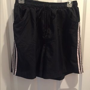 Ladies Adidas athletic shorts